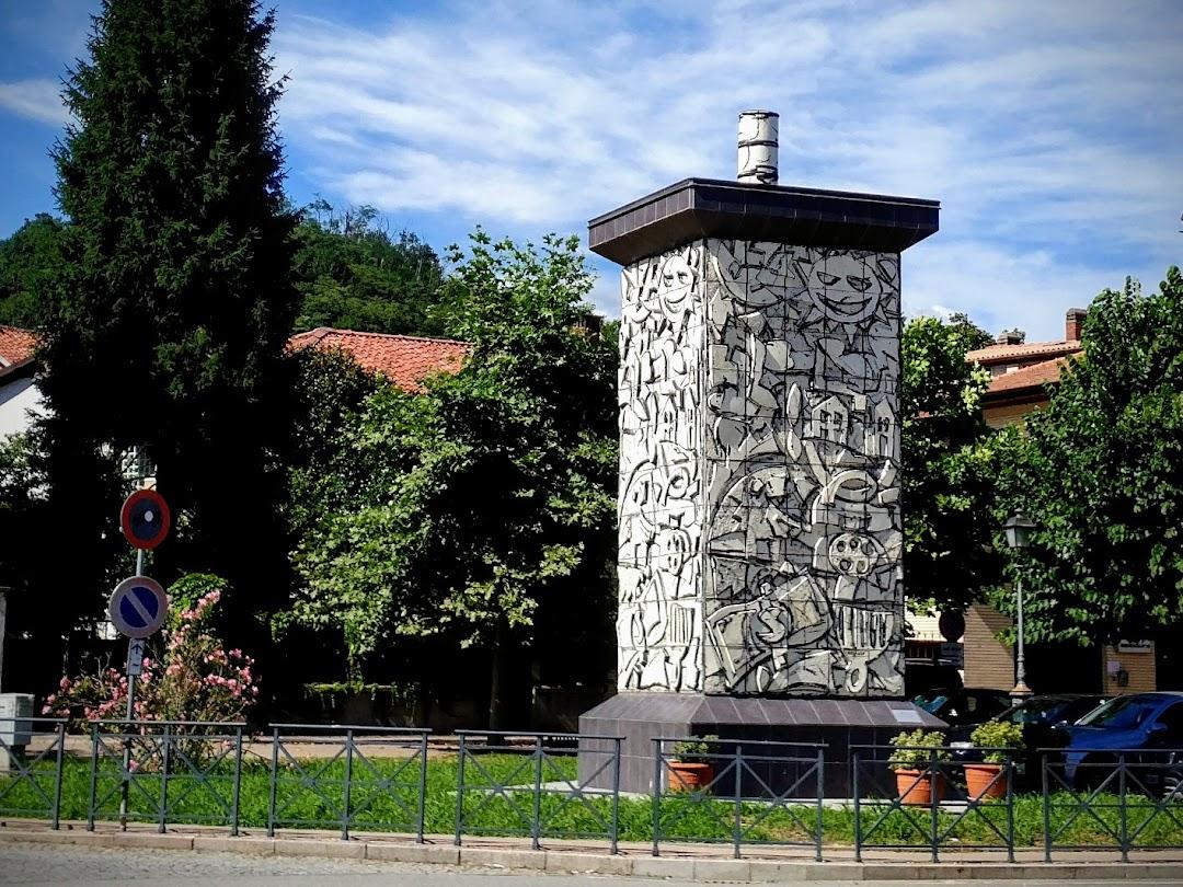 Monumento alla Stufa - Ugo Nespolo