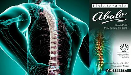 imagen de masajista Abalo Fisioterapia