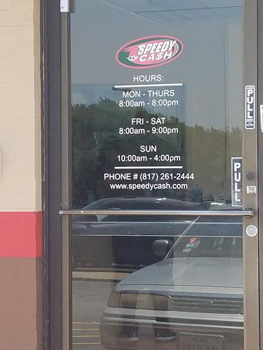 Speedy Cash, 815 E Pioneer Pkwy, Arlington, TX 76010, Loan Agency
