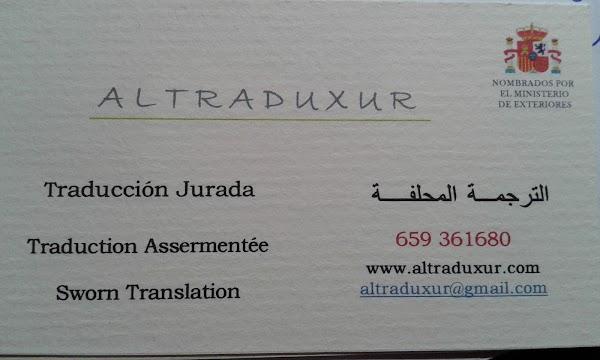 Altraduxur Traducciones