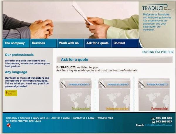 TRADUCI2-Servicios de traducción profesional