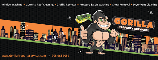 Gutter Cleaning Service Gorilla Property Services in Oakville (ON) | LiveWay
