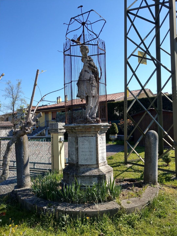 Statua di SantOsvaldo di Northumbria martire