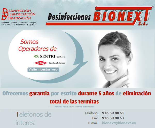 Desinfecciones Bionext, S.L.