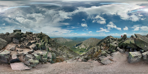 Google Photo Sphere of Mount Katahdin (Baxter Peak)