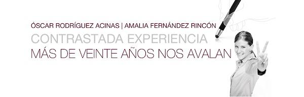 Abogados Amalia Fernández Oscar Rodríguez