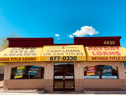 Nevada Title and Payday Loans, Inc. in Las Vegas, Nevada