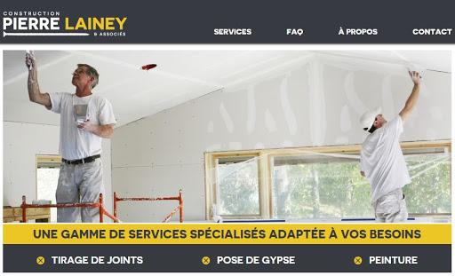 Painter Construction Pierre Lainey & Assoc in Rue des Morilles ()   LiveWay