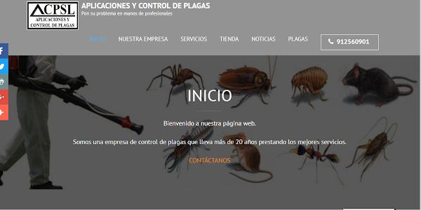 Aplicaciones y control de plagas S.L.