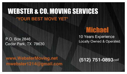 Moving and Storage Service «Webster & Company Moving Services», reviews and photos