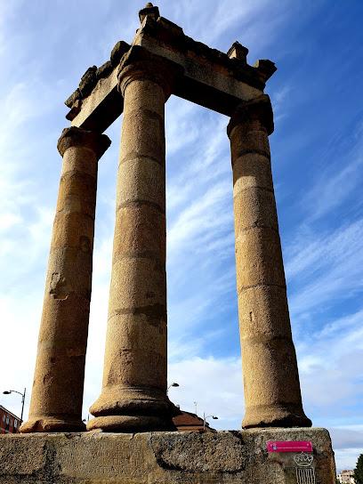 Three Roman Columns