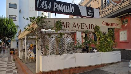 Bar casa Paquito