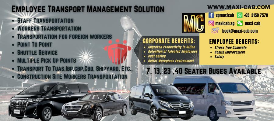 Maxi Cab | Maxicab Singapore | Minibus Taxi Booking | 7-13 Seater Maxi Cab Taxi