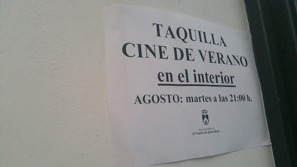 Cine De Verano Patio de San Agustín