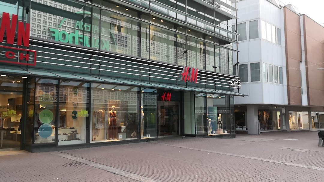 Umkleide m h und H&M: Digitale