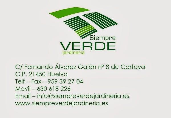 Siempre Verde - Jardinería Mantenimiento Piscinas Huelva
