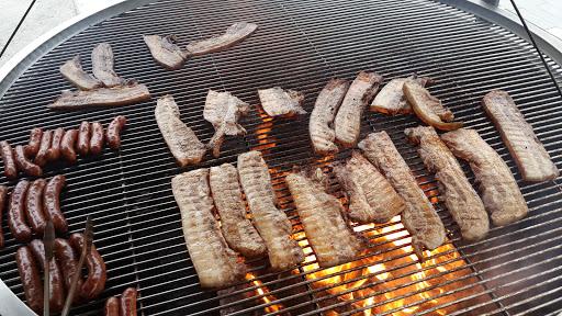 原木碳烤山豬肉