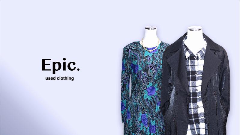 Epic. used clothing