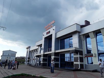 Train station Padunskie Porogi