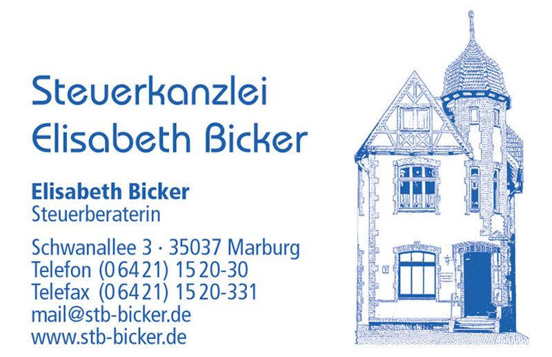 Steuerberaterin Elisabeth Bicker