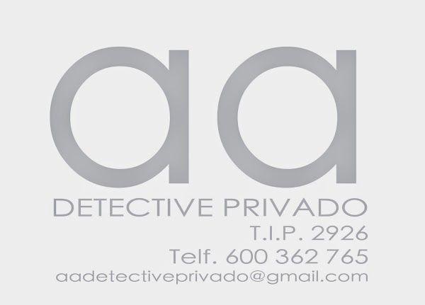 AA DETECTIVE PRIVADO