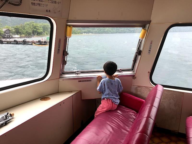 休屋港(十和田湖遊覧船)