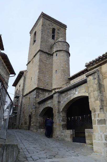 Iglesia de San Martin de Artieda