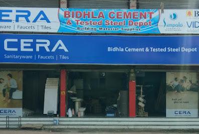 Bidhla Cement And Tested Steel Depot/Puja Plywood And Hardware. Exclusive Cera Dealer, Simpolo Dealer, Bell Dealer, Vida Dealer.Burhanpur