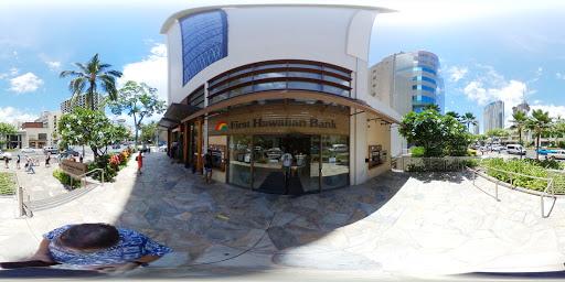 First Hawaiian Bank Waikiki Branch in Honolulu, Hawaii