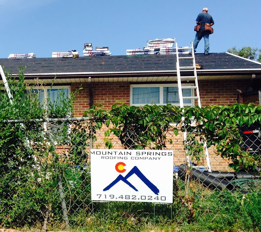 Mountain Springs Roofing Company in Colorado Springs, Colorado