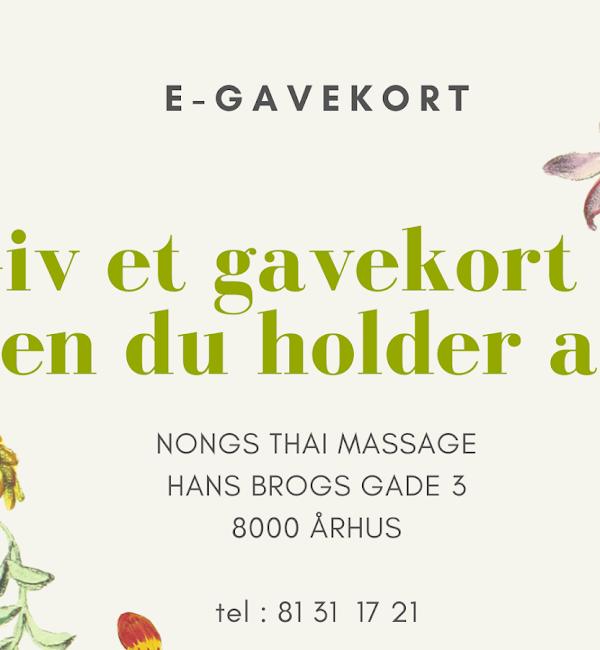 Aarhus i thai massage Napha Thai