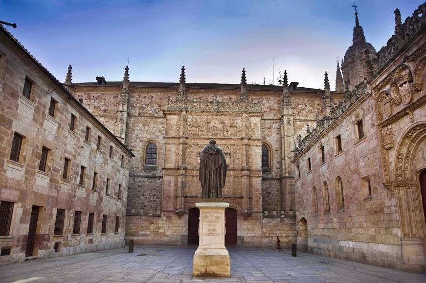 University of Salamanca, out side