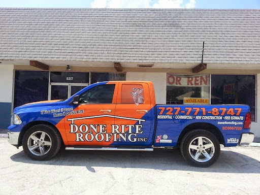 Roofing Contractor «Done Rite Roofing inc.», reviews and photos