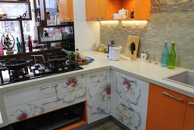 Kutchina Modular Kitchen (Sakchi)Mango