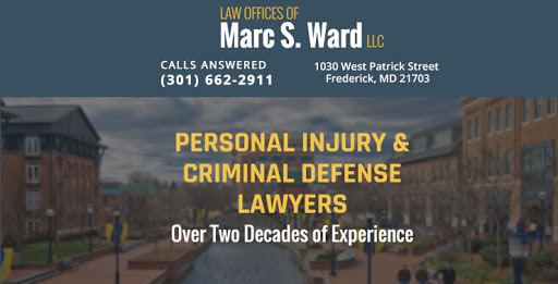 Law Offices of Marc S. Ward, LLC, 1030 W Patrick St, Frederick, MD 21703, Law Firm