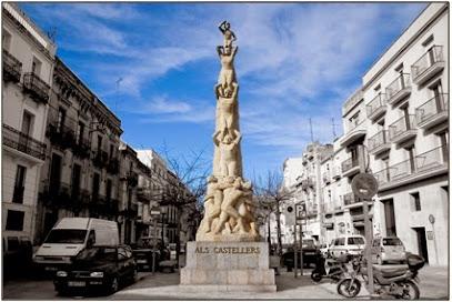 Monument als Castellers
