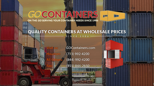 GOContainers, LLC, 242 N Ww White Rd, San Antonio, TX 78219, Containers Supplier