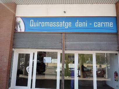 imagen de masajista centre de quiromassatge dani&carme