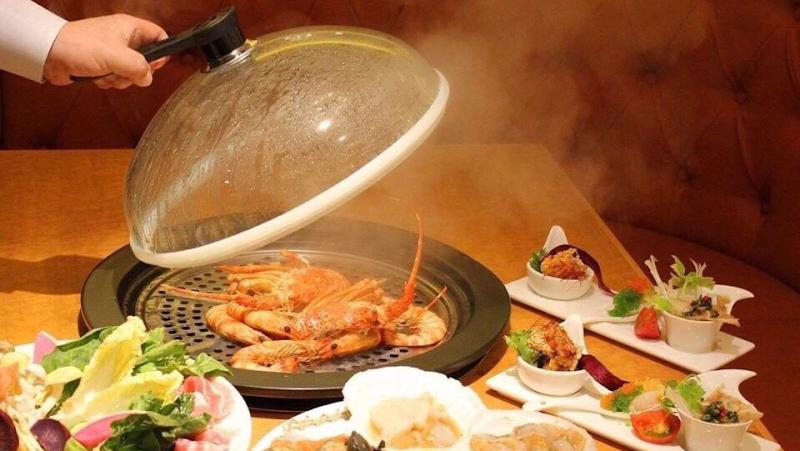 左舞璃菜 鳳 銀座 蒸し鍋 -Saburina-