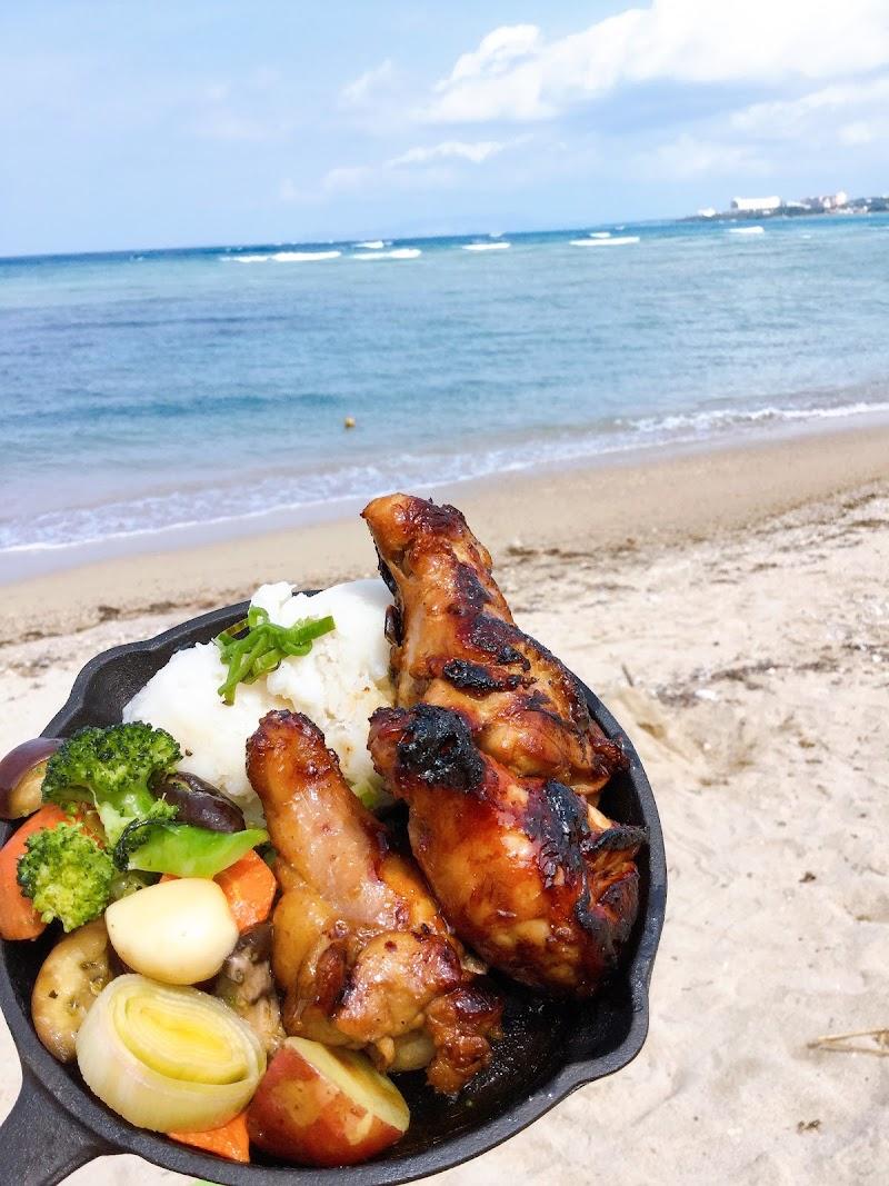 浜辺のTIPI CAMP