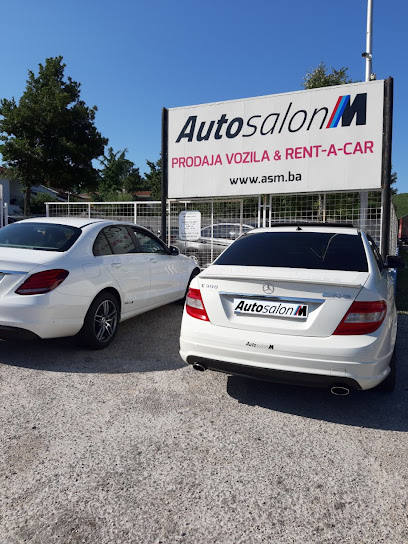 Used car dealer Auto salon M