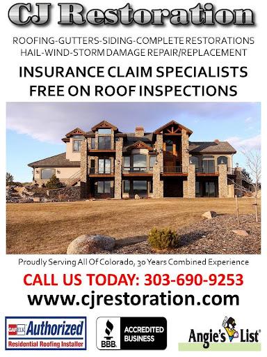 CJ Restoration in Aurora, Colorado
