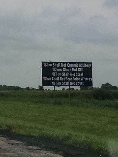 Tourist Attraction «Hell is Real Sign», reviews and photos, I-71, Mt Sterling, OH 43143, USA