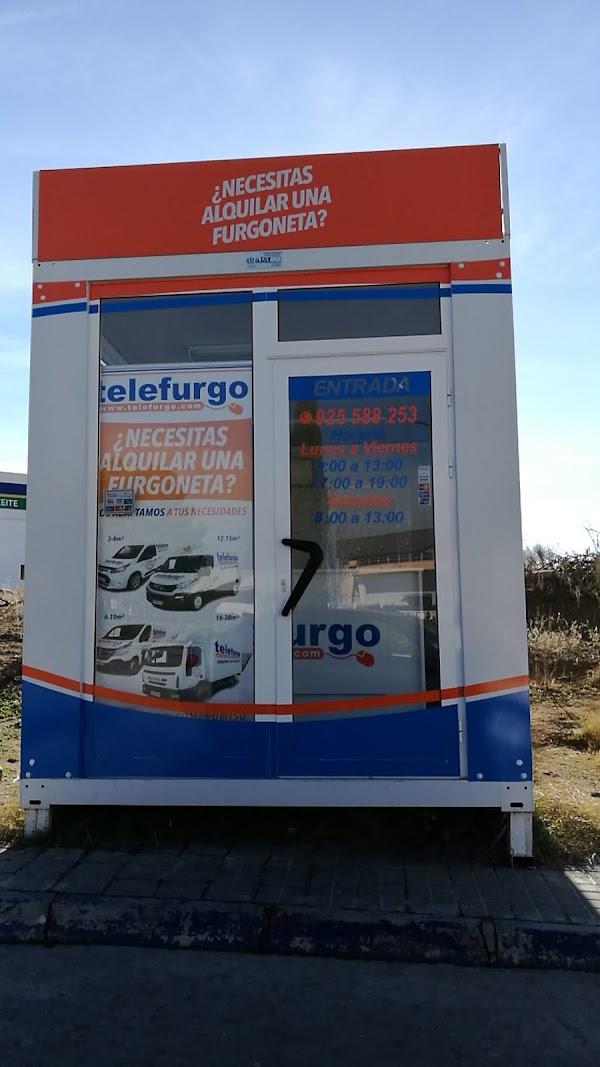 TELEFURGO TOLEDO - Alquiler de Furgonetas