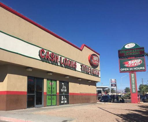 Rapid Cash, 4241 S Nellis Blvd, Las Vegas, NV 89121, Loan Agency