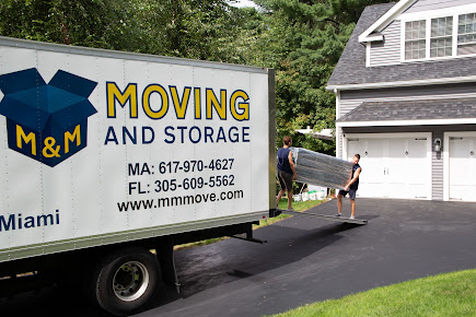 M&M Moving and Storage Company I Professional Local and Interstate Movers - Boston - Florida Express