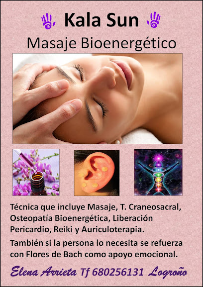 imagen de masajista Terapias Naturales Logroño