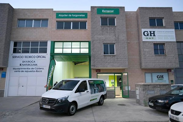 Europcar Jaén Poligono - Alquiler de furgonetas