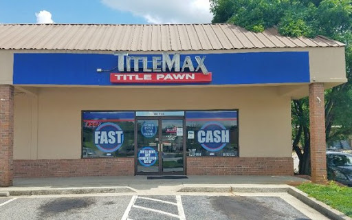 TitleMax Title Pawns, 1025 D West Spring St, Monroe, GA 30655, Loan Agency