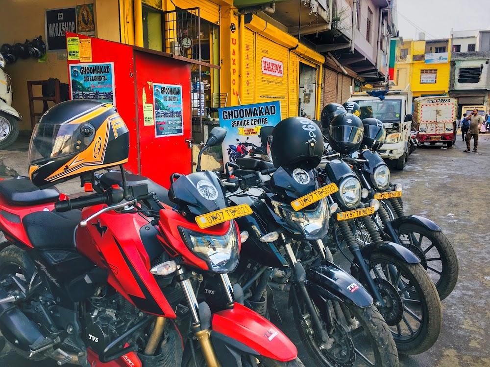 tvs apache rtr on rent in Dehradun. Bikes on rent in dehradun near isbt